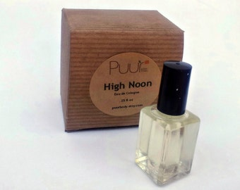 High Noon Eau de Cologne - Fine Fragrance - Old West Style Perfume in Gift Box