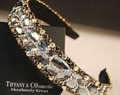 Fancy Clear Color Crystal Headband
