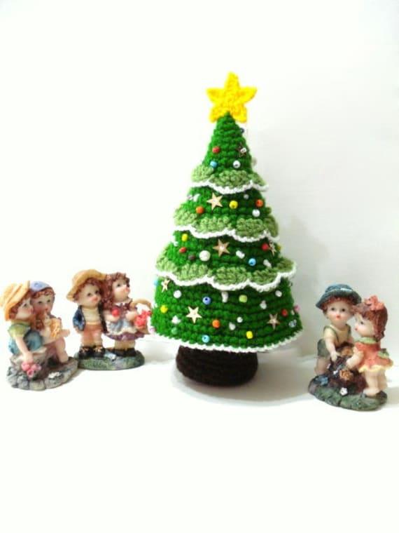 Amigurumi Neko Atsume Pattern : Pattern Amigurumi Christmas Tree Pattern Crocheted Tree
