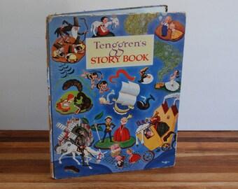 Tenggren's Story Book - 1944 First Edition - Simon and Schuster - Gustaf Tenggren