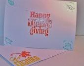 Thanksgiving Season Holiday Card