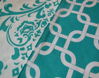 Custom Placemats -  Customize Your Own Pillowscape Reversible Placemats - You Select The Fabrics To Coordinate With Your Home Decor