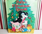 Polly's Christmas Present - Vintage Wonder Book - Story and Illustration by Irma Wilde