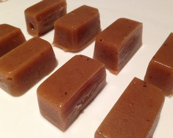 Caramel, Autumn Spice, The Sticky Wrapper, gluten free, all natural, homemade, candy