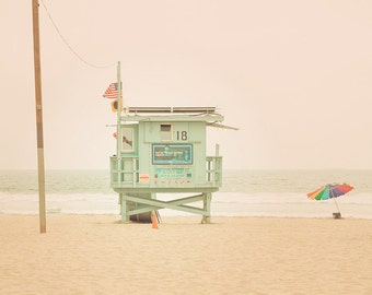 Beach photography - California Summer - 8x10