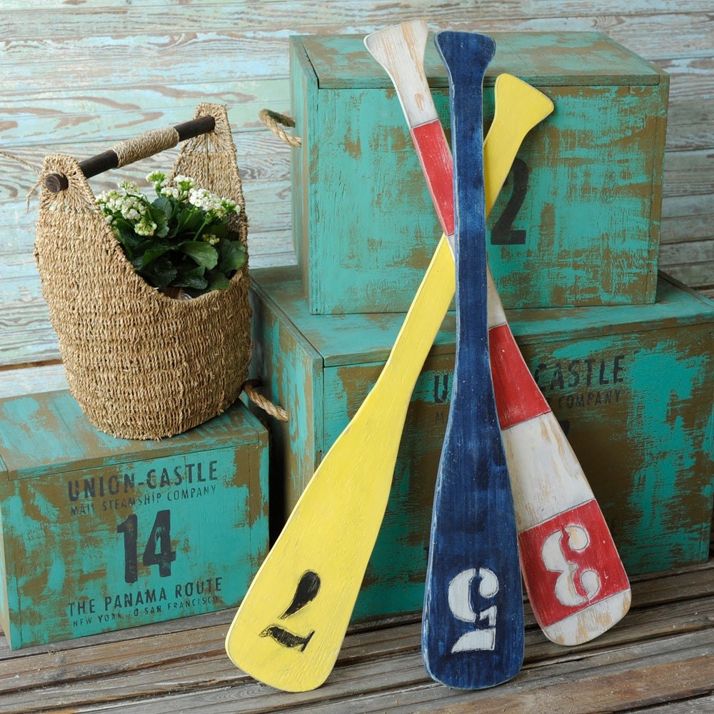Nautical Wall Decor Oars: Boat Decor Oar Nautical Wall Decor Boat Oars By