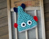 Baby boy fish hat Newborn Fisher Fisherman Fishy Trout Dr Suess ANY SIZE or color Little Fishy Photo Prop Hat Beanie Fish Fisherman Trout