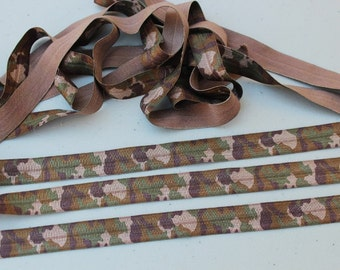 Listing for 90 yards Fold over elastic  5/ 8 wide