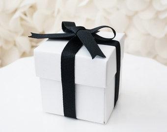 White Favor Box-Set of 10
