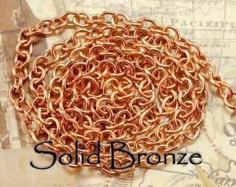 Solid Bronze Chain