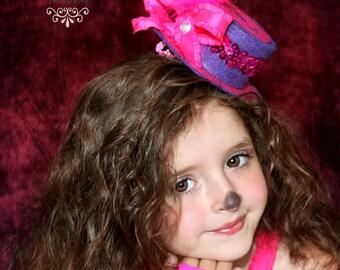 Cheshire cat coordinating top hat