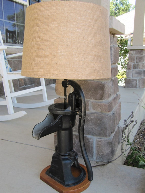 Repurposed 1930 S Vintage Hand Water Well By