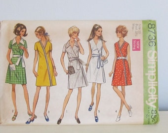 Dress Pattern, Simplicity 1970,  5 Styles,  Dress Pattern,  Size 10,  Supply Item, Sewing Item