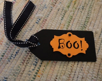 Halloween BOO! Tags  Set of 6