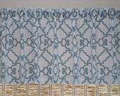 Modern Covington Windsor Kitchen Curtain Window Valance  Kitchen Valance Curtain 52x12 52x14 52X16 or 52X18