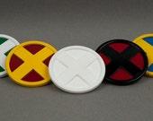 X-Medalion Xmen Cosplay Badge Emblem Logo (Small) Wolverine