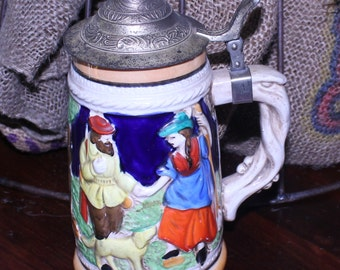 Royal Sealy Beer Stein, Made in Japan Beer Stein, Vintage Beer Stein