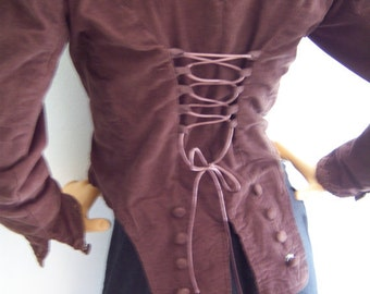 Made to Order Victorian Womans Riding Jacket sm or med