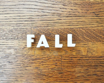 Fall - Vintage Ceramic Push Pins