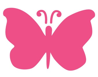 Butterfly Wall Stencil for Painting Kids or Baby Room Mural (SKU424-istencil)