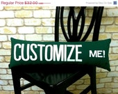 CLOSING SALE Street Sign Pillow Customizable Pick Your Favorite from Any City