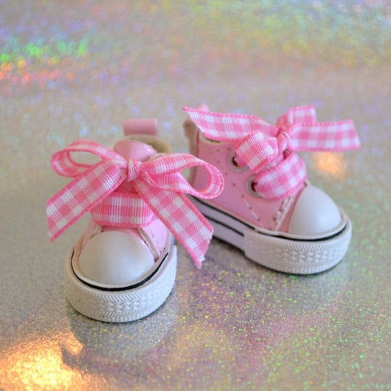 Lalaloopsy Shoes - Cotton Candy Pink Custom Sneakers for Lala Loopsy Doll