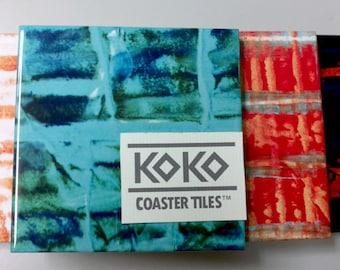 Koko Coaster Tiles Cortez Cove Pack