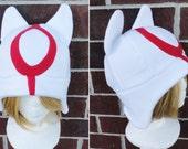 Okami Amaterasu Hat - Adult-Teen-Kid - A winter, nerdy, geekery gift!