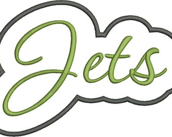 Jets Applique Script
