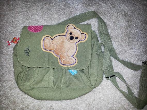 Shiny Mechanic Teddybear Workbag