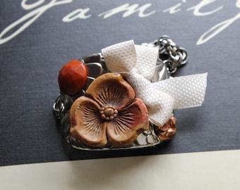 Vintage Buttons Western Style Bracelet