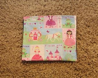 Reusable Snack Bag-Princess