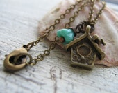 25% Off Any Order Bird House Necklace