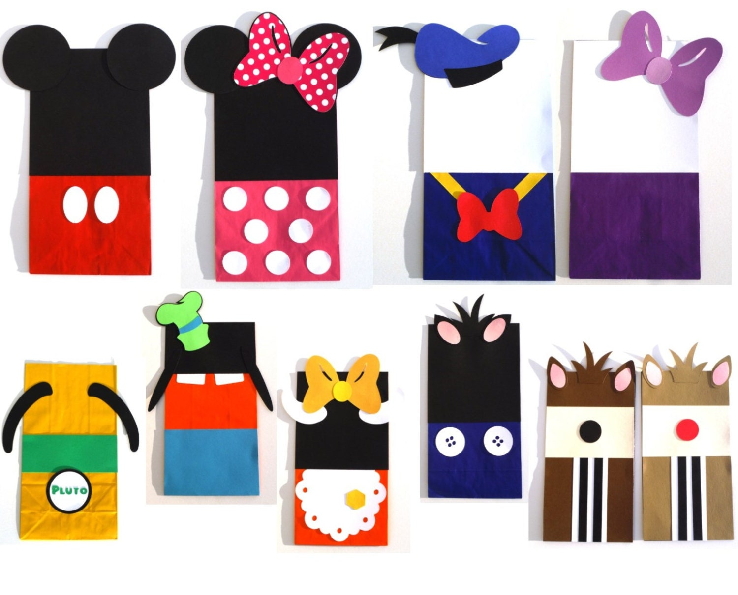 24 Mickey Mouse Clubhouse Themed Favor Loot By ScrapsToRemember