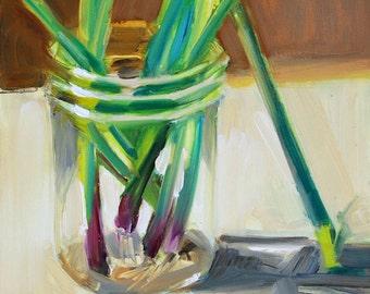 Onions in a Jar