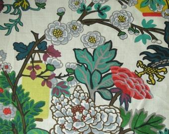 Dragon Pillow, Pillow, Designer Pillow, Decorative Pillow, Throw Pillow, Schumacher, Chiang Mai Dragon, 20x20 inch, Alabaster, Linen