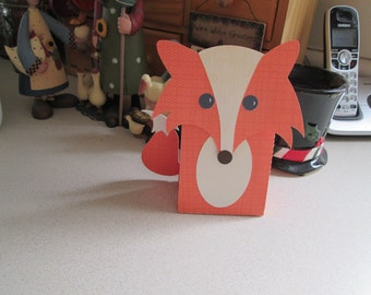 Fox Favor Box Set of 10