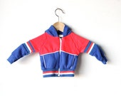 vintage 80s FOOTBALL kids toddler soft childrens sweatshirt