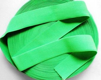 "2"" Neon Green Stretch Elastic Band"