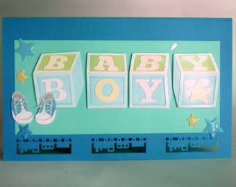 Baby Greeting Card - Boy