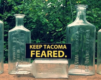 Keep Tacoma Feared Sticker (Pack of 5)