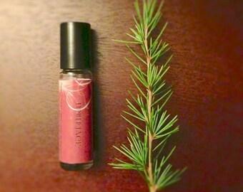 Lumberjack Perfume Oil - Woodsy, Evergreen, Pine, Cedar Scent - Unisex Roll On Perfume - 8mL