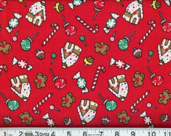 06840 -  Malone Textiles Goodies for Christmas-  1 yard