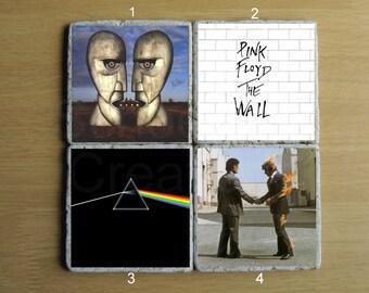 Pink Floyd Stone Coaster - Set of 4
