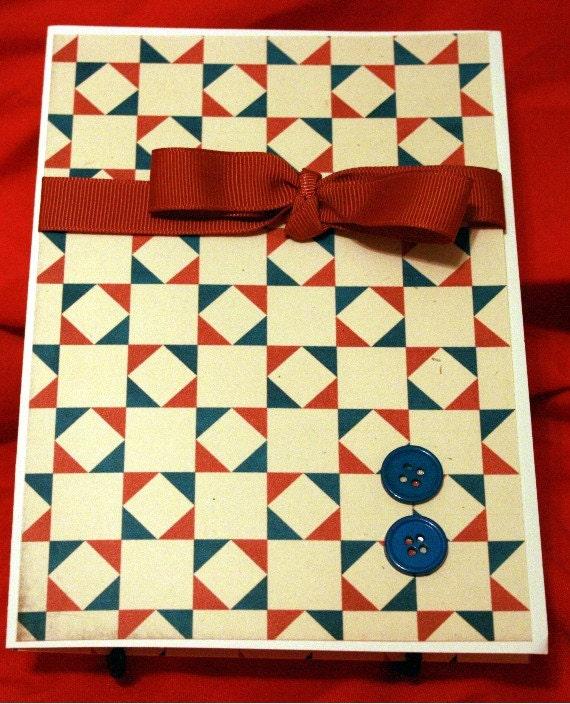 Quilt Block Birthday Card 20130292