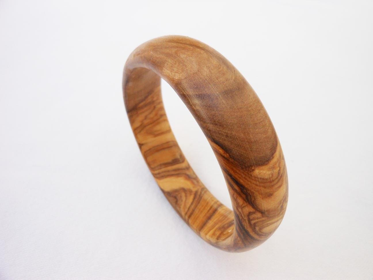 wooden bracelet wooden bangle olive wood bracelet gift