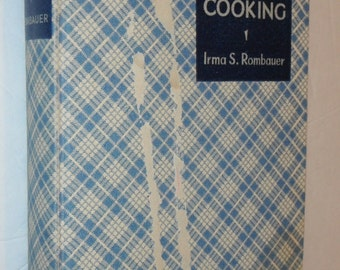 Joy of Cooking Irma S. Rombauer Third Printing Vintage Book Copyright 1936