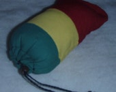 Rastafari Glass Pipe Rasta Case Bag Pouch Rastafarian Green Yellow Red wholesale available