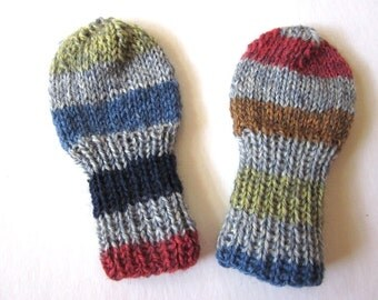 Knitted Mittens for Infant Baby Boy