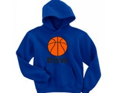 Personalized Basketball boys Hoodie